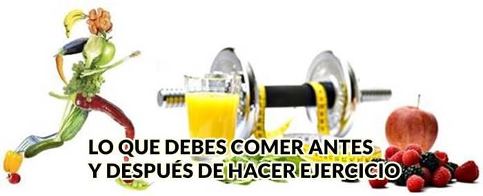 Zumos de frutas y verduras y otras bebidas para después de hacer ejercicio