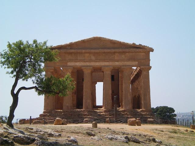 Templo de la Concordia, Agrigento - Sicilia
