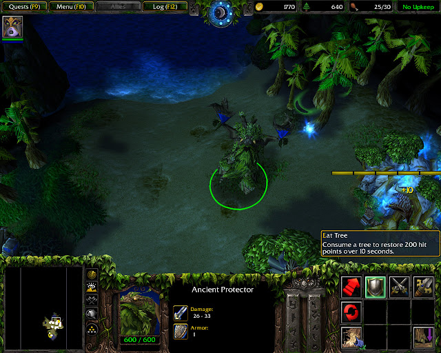 The Broken Isles Mission 2   Ancient Protector Screenshot   Warcraft 3: The Frozen Throne
