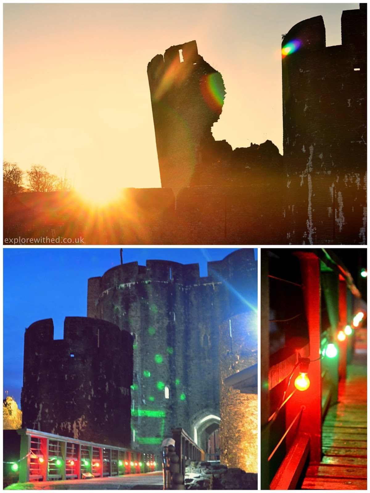 Sunset in Caerphilly