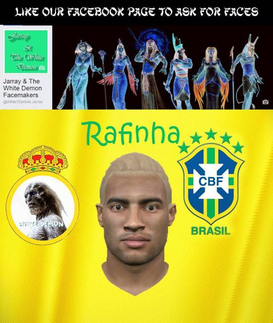 PES 2016 Rafinha New Hairstyle