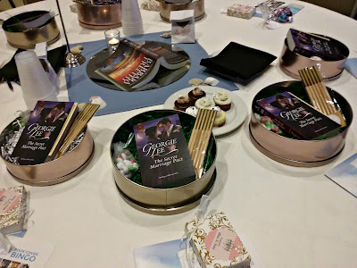 table favors, swag, gifts, party favors,books, writing,