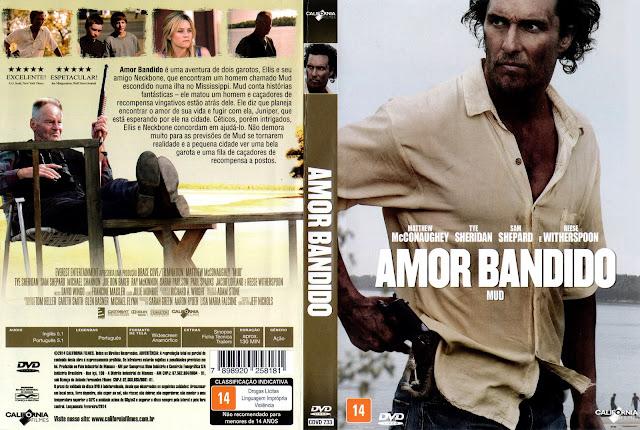 Capa DVD Amor Bandido