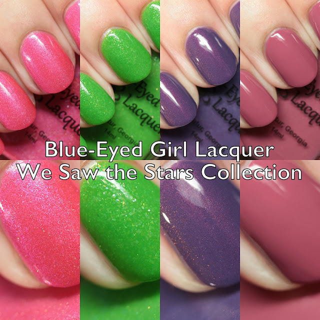 Blue-Eyed Girl Lacquer We Saw the Stars Collection