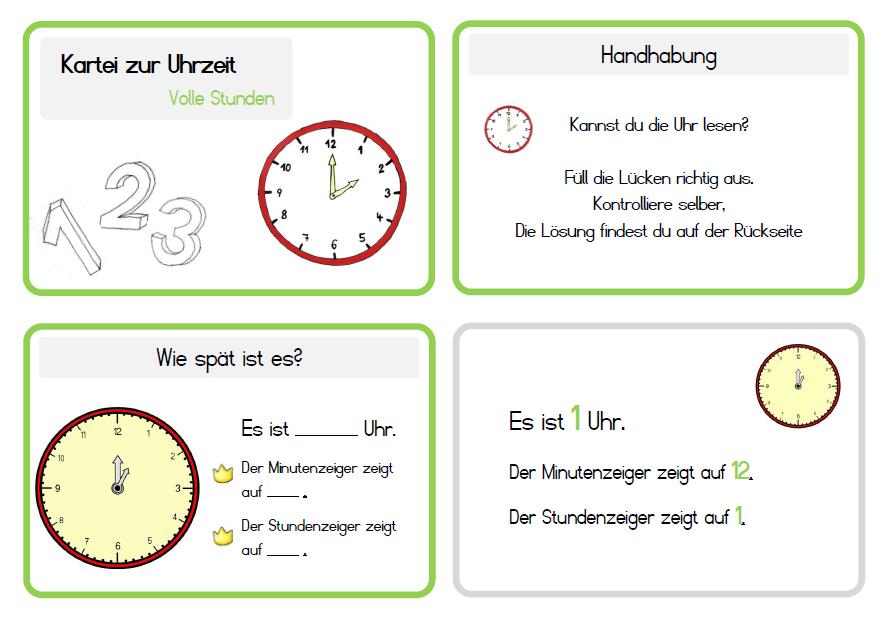 Arbeitsblatt Mathe Zeit : Krabbelwiese rechnen mit zeit