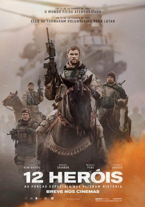 12 Heróis Torrent Download   BluRay  720p 1080p