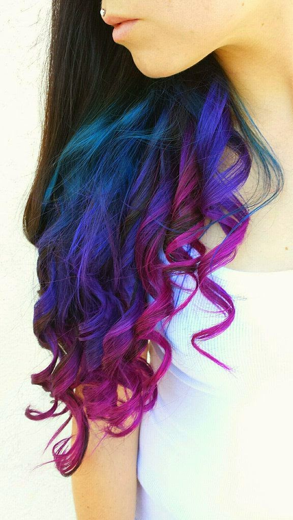 Real Girls Who Dare to Rock Rainbow Hair