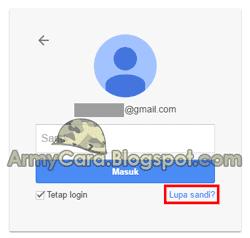 Ganti Sandi Gmail Lewat HP yang lupa