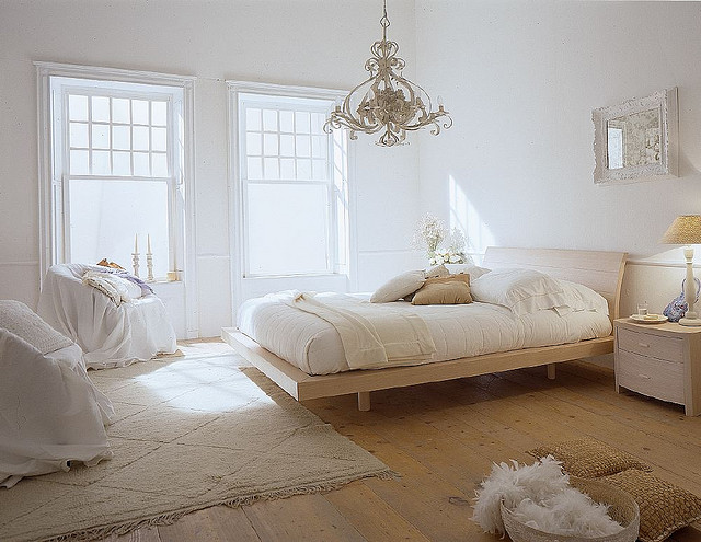 schlafzimmer einrichten landhausstil rustic headboard idea. 21 ...