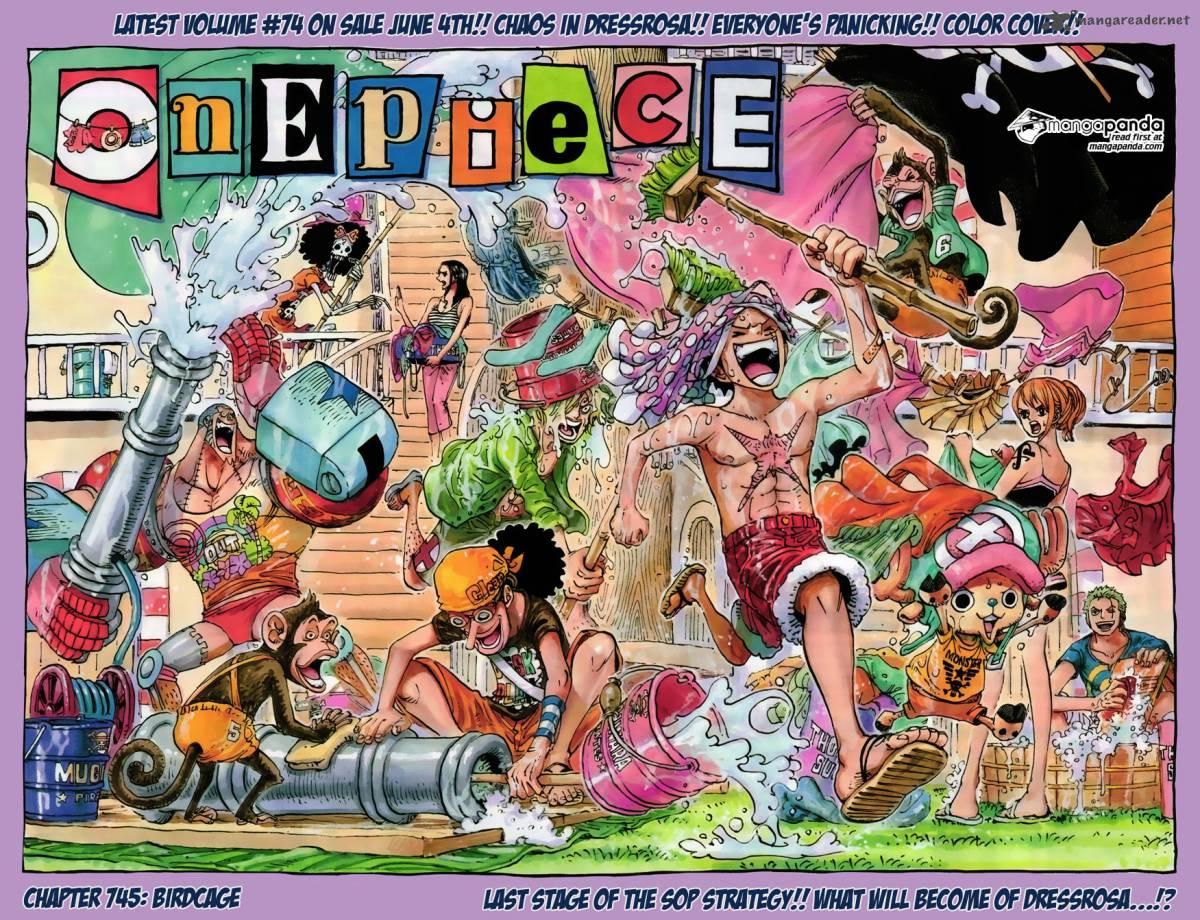 One Piece Ch 745: Birdcage