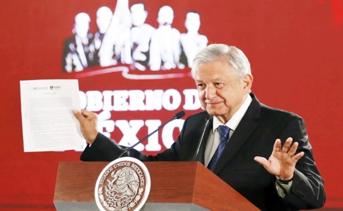 Amlo, documento, informes