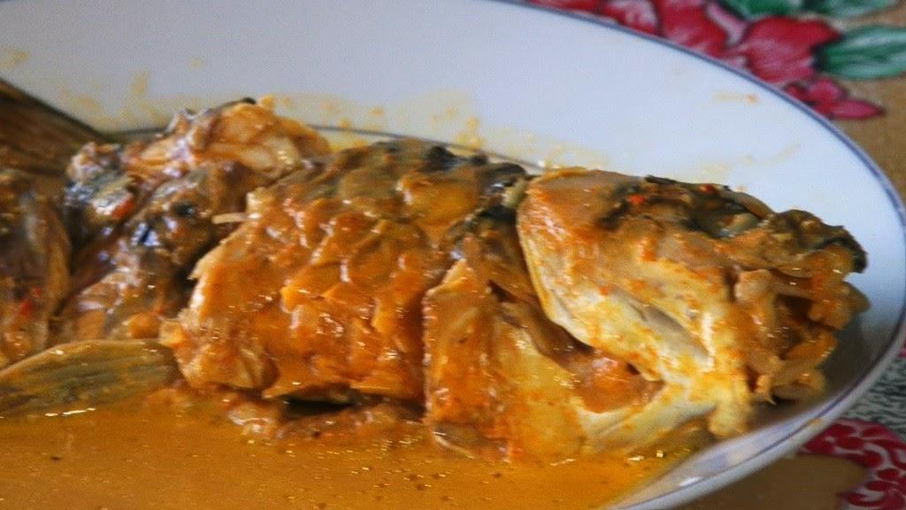 SUMATRA - KERINCI JUNGLE ADVENTURE: MAHSEER SEMAH FISH (Gulai Ikan Semah)