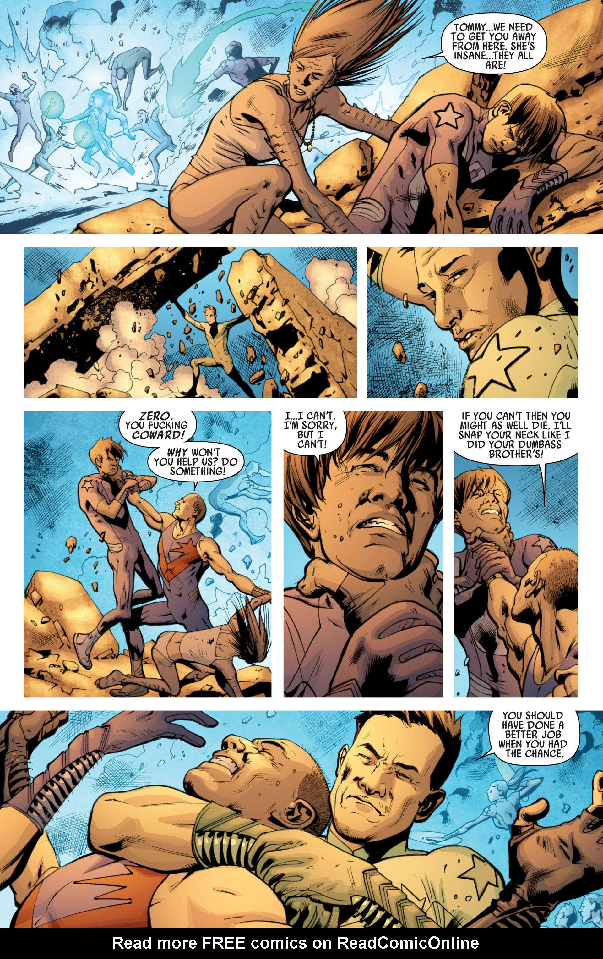 Read online America's Got Powers comic -  Issue #7 - 15