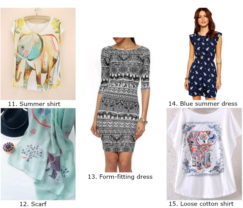 Elephant fashion