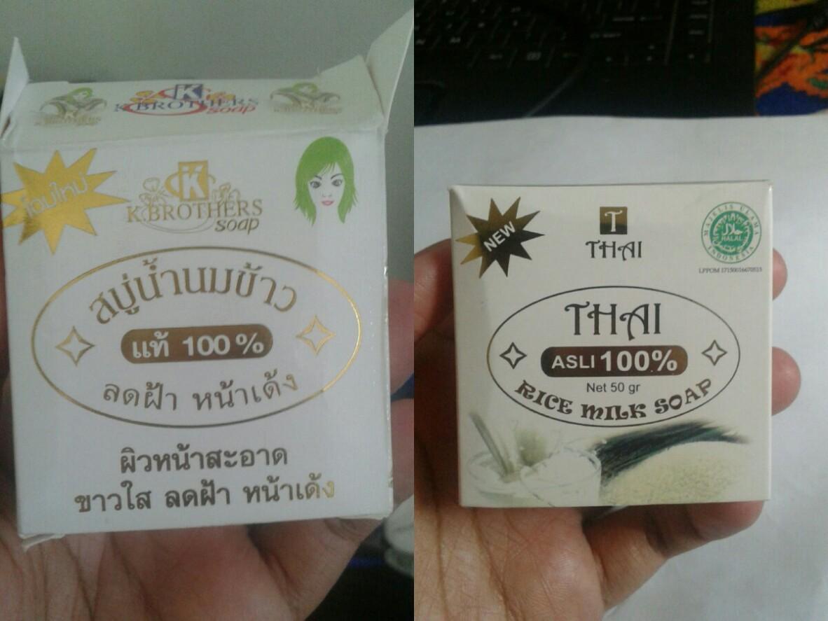 Review Sabun Beras Thailand Rice Milk K Brothers Soap