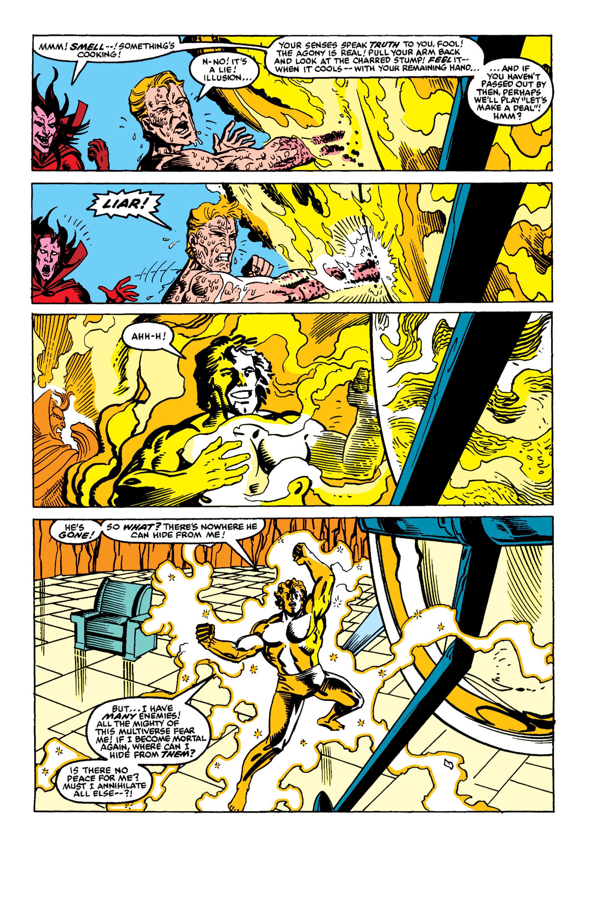 Read online Secret Wars II comic -  Issue #9 - 21