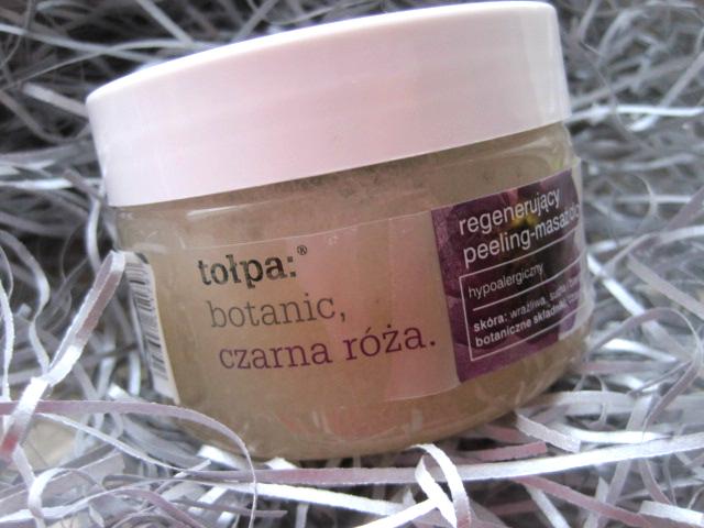 Tołpa: botanic, czarna róża. Regenerujący peeling-masaż do ciała