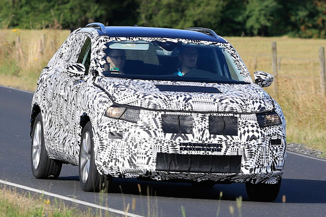 2018 New Volkswagen Polo SUV spotted Testing