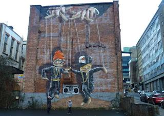 Glasgow, Hip Hop Marionettes.