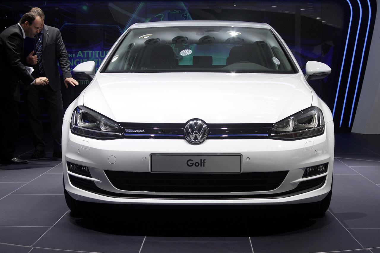 2013 volkswagen golf 7 bluemotion concept paris te turkeycarblog. Black Bedroom Furniture Sets. Home Design Ideas