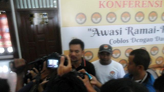 Ketua Panwas Kota Pekanbaru Indra Khalid Nasution
