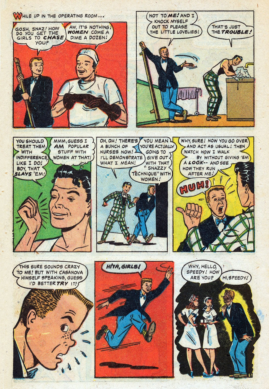 Read online Nellie The Nurse (1945) comic -  Issue #14 - 16