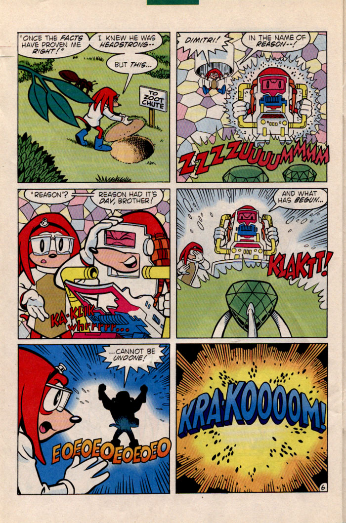 Read online Sonic The Hedgehog comic -  Issue #35 - 24