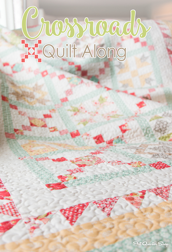 Happy Quilting Crossroads Quilt Along Coming Soon