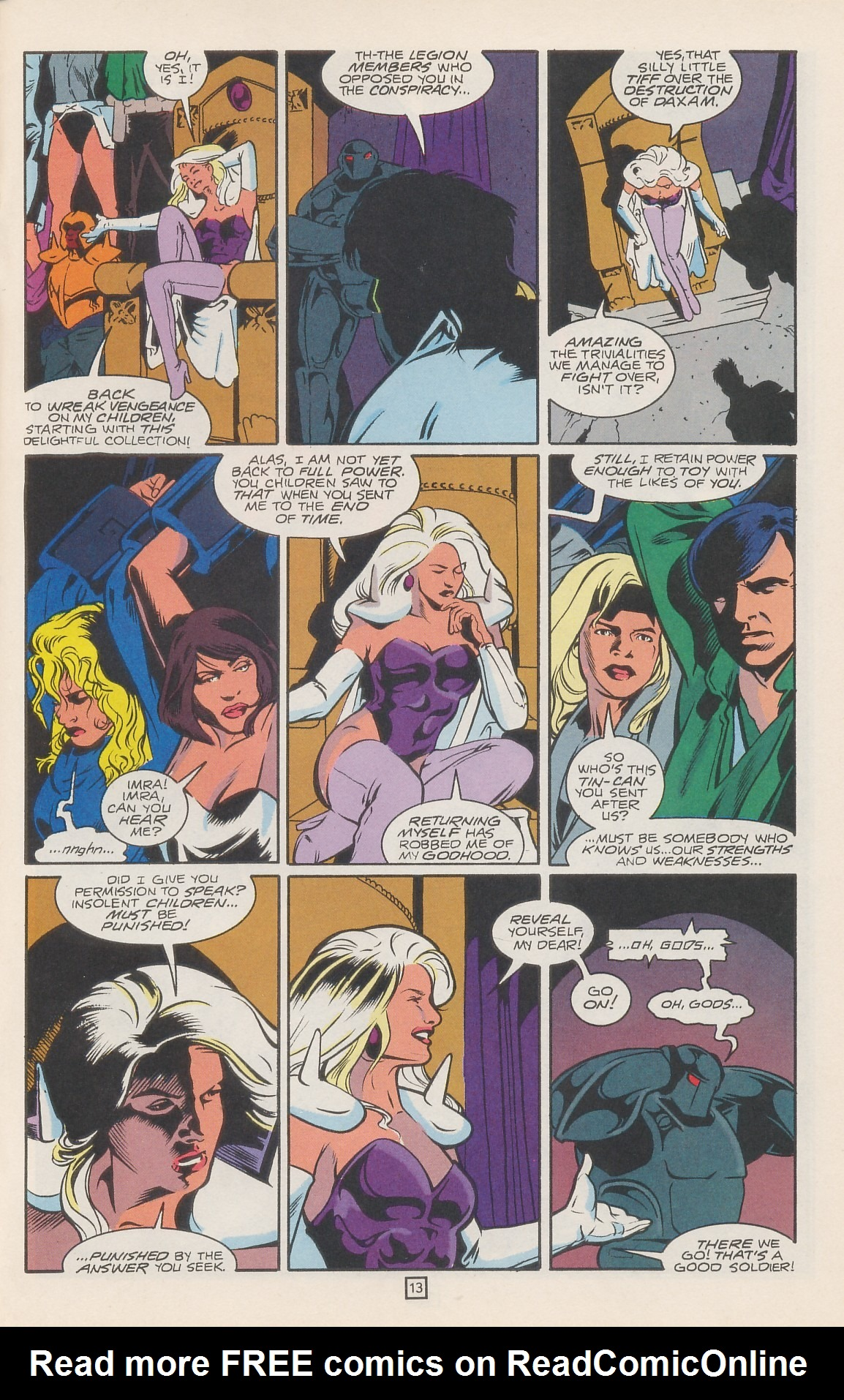 Legion of Super-Heroes (1989) 42 Page 16