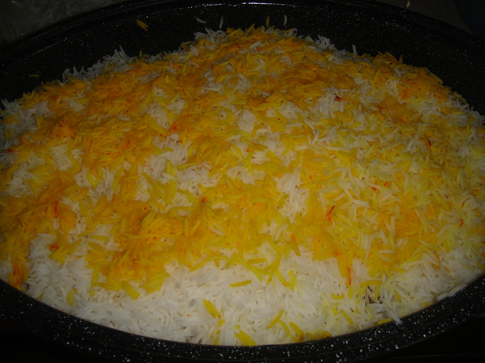 Mamas secret recipes rice theres one more way of making saffron rice dissolve the saffron in hot water instead of milk to this add a blob of unsalted butter forumfinder Choice Image