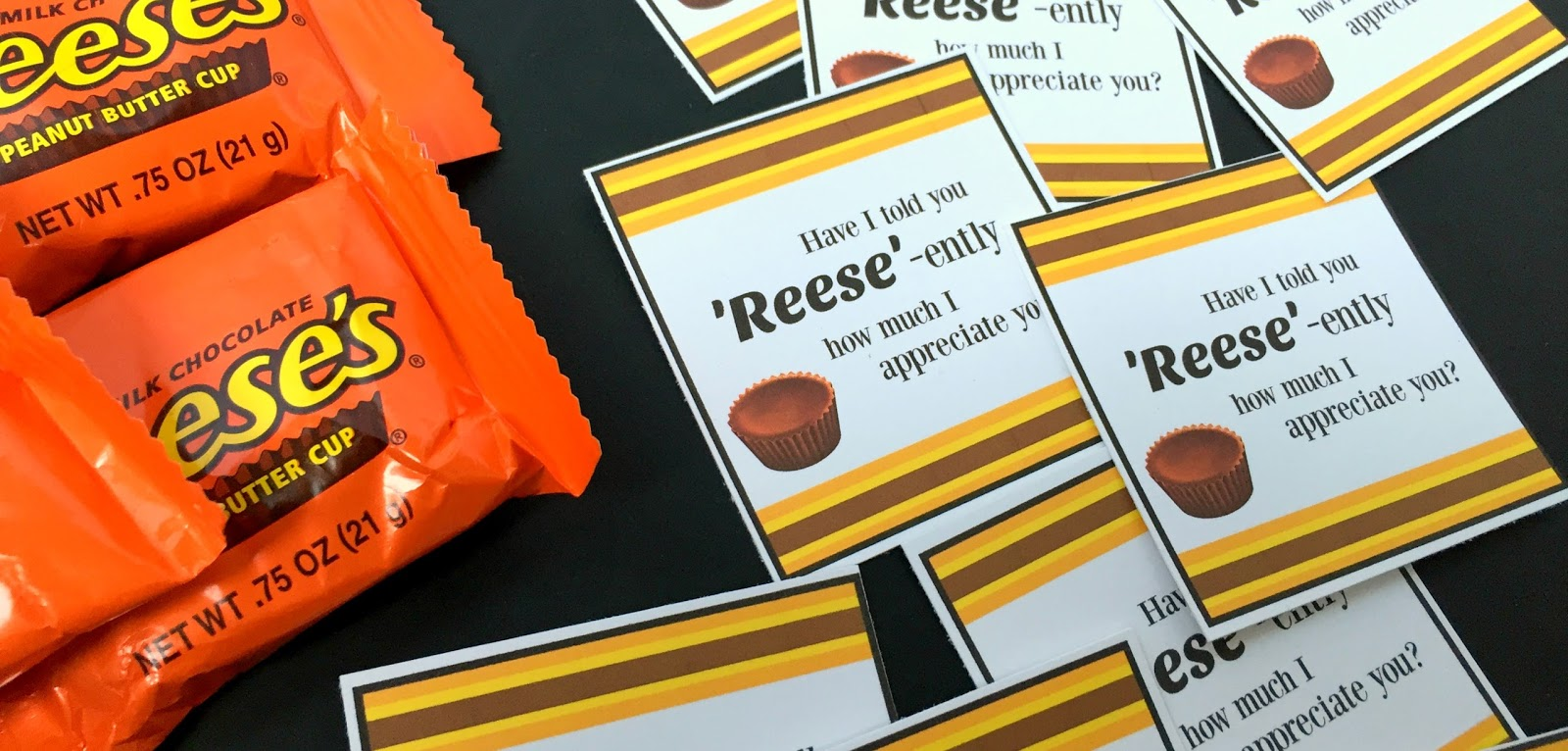 Michelle Paige Blogs Reese S Peanut Butter Cups Appreciation Gift