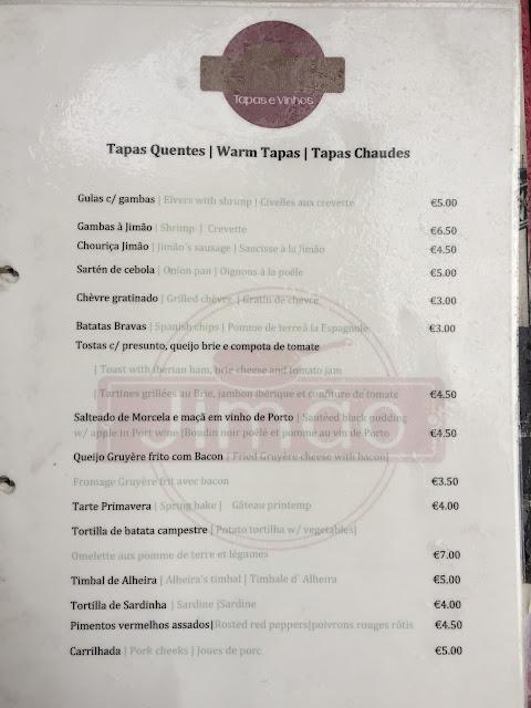Tapas Restaurant Jimao