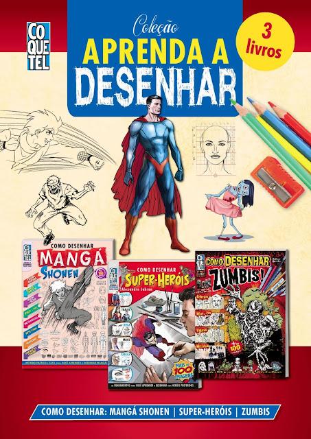 Coleção Aprenda A Desenhar 2 - Arthur Garcia, Alexandre Jubran