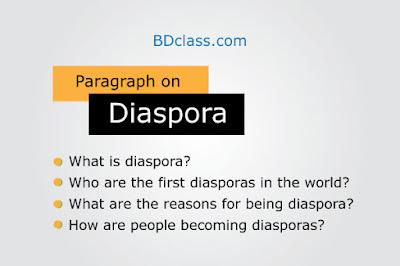 Paragraph on Diaspora