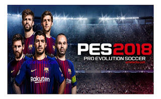 Download Latest Pro Evolution Soccer PES 2018 Android APK + DATA Full