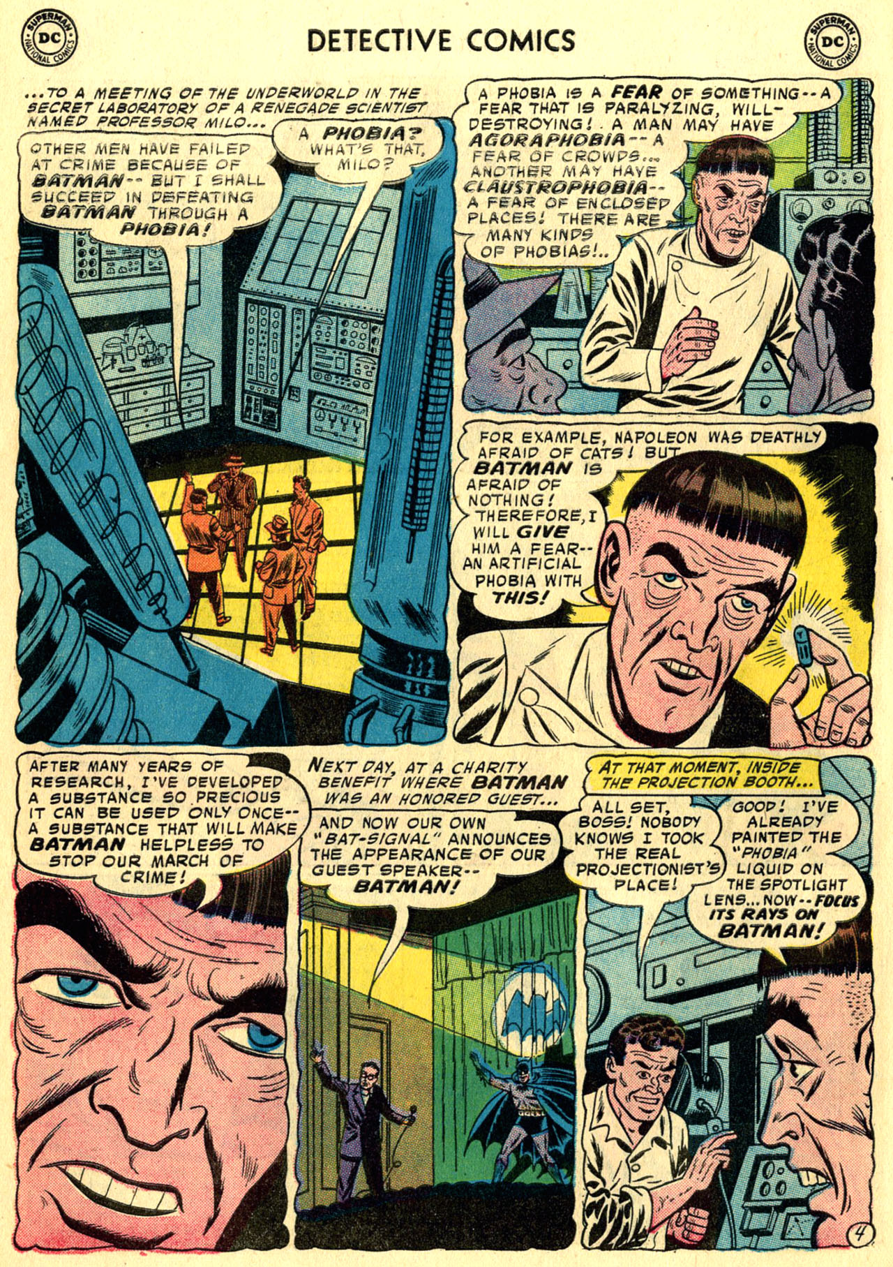 Read online Detective Comics (1937) comic -  Issue #247 - 6