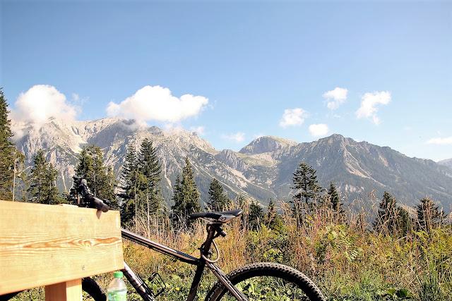 Ramsau Itävalta maastopyöräily