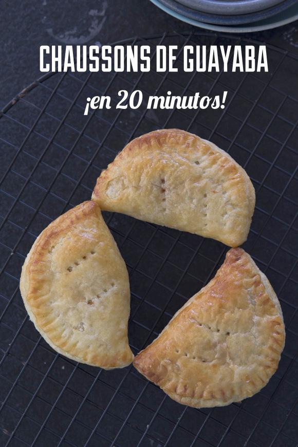 ¿Amante de la guayaba? prueba estas empanaditas ¡en solo 20 minutos!
