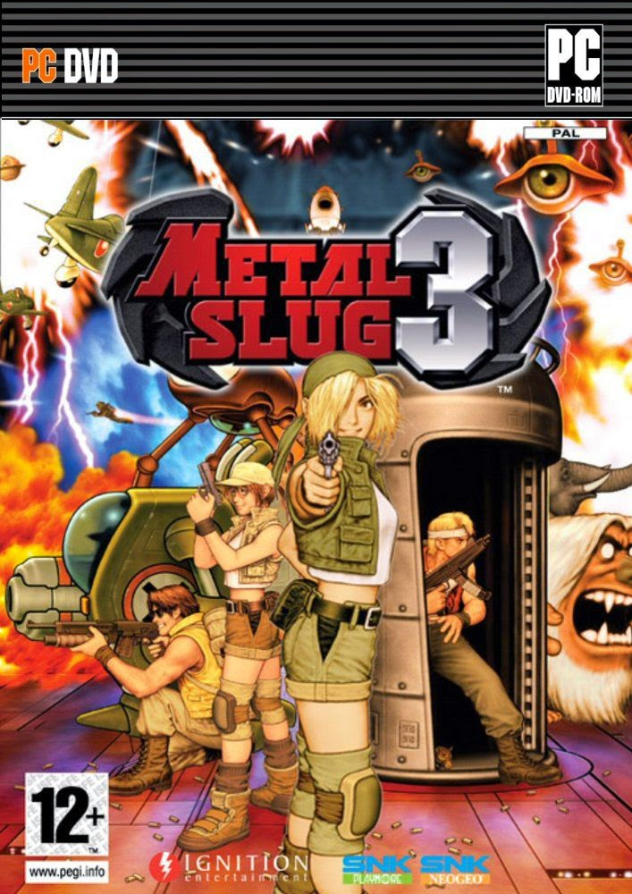 Cover Caratula Metal Slug 3 PC Descargar