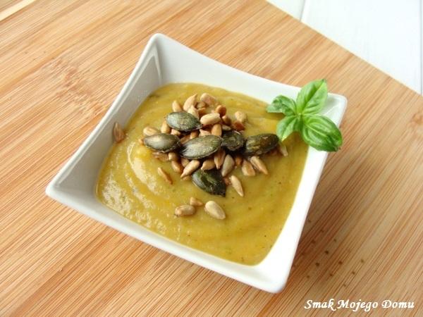 Zupa- krem z cukinii i ziemniaków