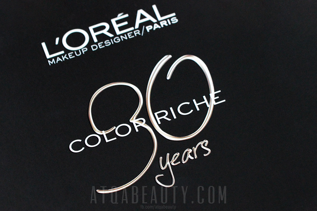 L'Oréal Paris Color Riche 30 years
