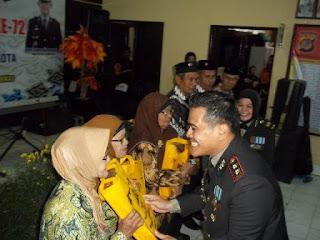 Polres Cirebon Kota Syukuran Hut Bhayangkara ke 72