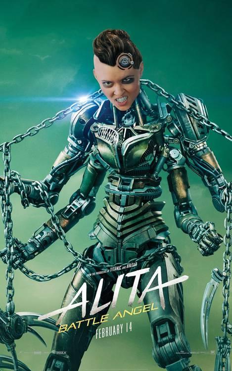 Anita - Anjo de Combate Poster 08