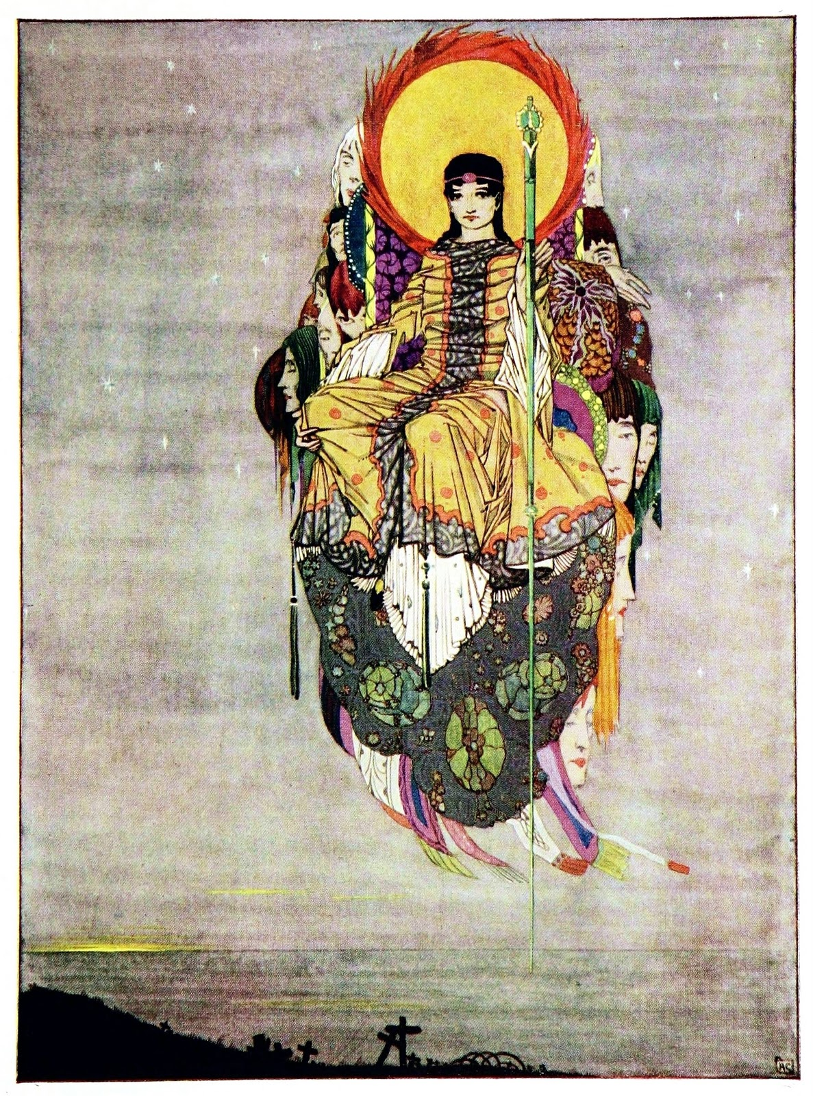The Year S Of Living Non: Art Of Narrative: Harry Clarke: The Year's At The Spring