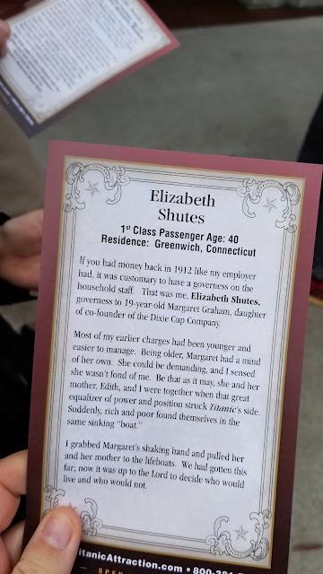 Passenger Elizabeth Shutes