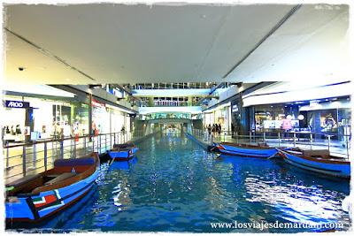 Sampan del Marina Bay