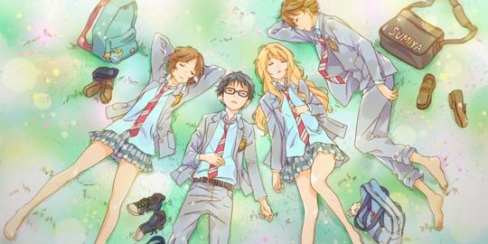 Suivez l'actualité de Your Lie in April sur Japan Touch, le meilleur site d'actualité concernant les mangas, les animes, les jeux vidéo et le cinéma.