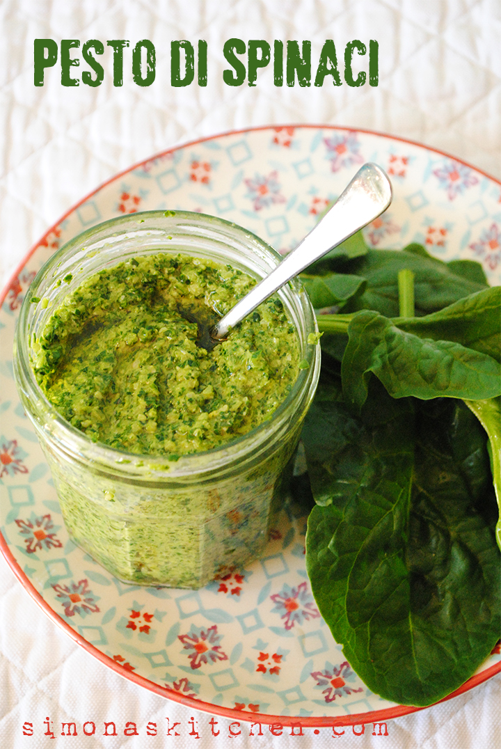 pesto spinaci
