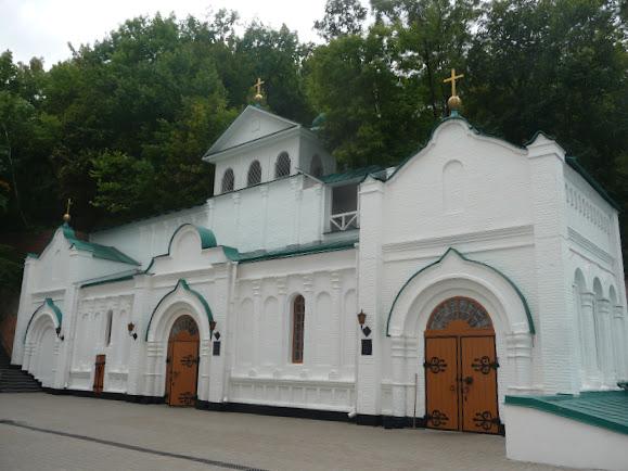 Святогорская Свято-Успенская Лавра. Нижний павильон