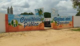 Obras de reforma e ampliação do cemitério de Serra dos Brandões segue a todo vapor.